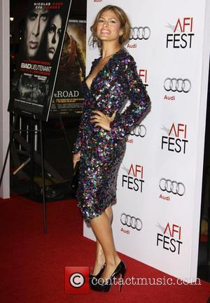 Eva Mendes Los Angeles Premiere of 'Bad Lieutenant: Port of Call New Orleans' held at Grauman's Chinese Theater Hollywood, California...