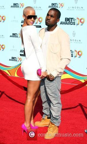 Amber Rose & Kanye West 2009 BET Awards held at the Shrine Auditorium - Arrivals Los Angeles, California - 28.06.09