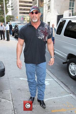 Bill Goldberg outside his hotel New York City, USA - 20.10.09