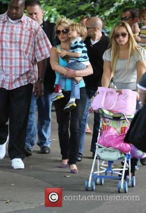 Britney Spears visits London Zoo with son Jayden James London, England - 16.06.09
