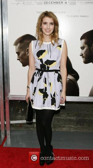 Emma Roberts The Cinema Society, Details and DKNY Men screening of 'Brothers' at the SVA Theatre - arrivals New York...