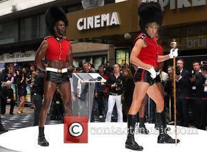 Sacha Baron Cohen and Empire Leicester Square