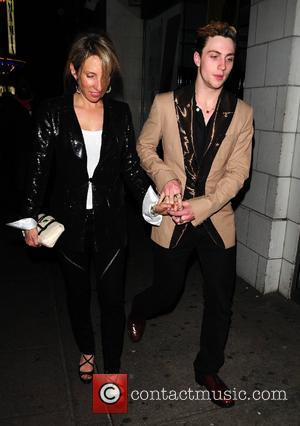 Aaron Johnson and Sam Taylor-Wood attend the charity fundraising evening 'Hoping's Got Talent' in aid of the Hoping For Palestine...