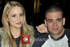 Dianna Agron and Mark Salling The cast of Glee sign copies of 'Glee: The Music Vol. 1 at Borders Books...