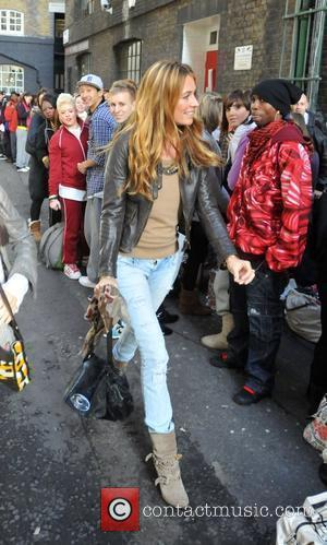 Cat Deeley arrives at a studio where her new BBC show 'So You Think You Can Dance' will be filmed...