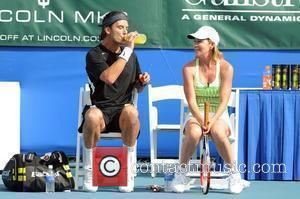 Gavin Rossdale and Chris Evert  The Chris Evert/Raymond James Pro-Celebrity Tennis Classic Pro-Am at the Delray Beach Tennis Center...