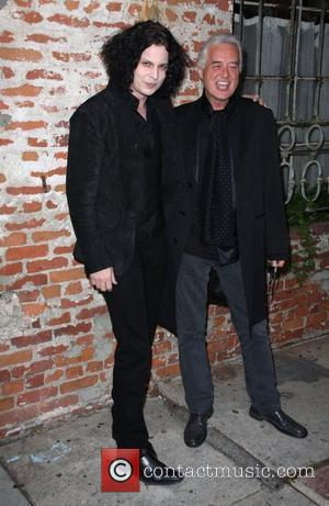 Jack White, Jimmy Page It Might Get Loud LAFF premiere held at the Mann Village theater Los Angeles, California -...