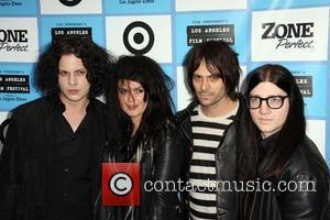 Jack White and band The Dead Weather It Might Get Loud LAFF premiere held at the Mann Village theater Los...
