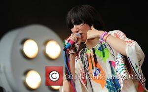 The Yeah Yeah Yeahs performing at the 2009 Glastonbury Festival - Day 3 Somerset, England - 28.06.09