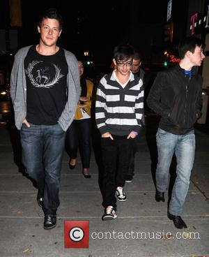Cory Monteith and Kevin McHale from CW's Glee departing Stephen Starr's Continental Midtown Restaurant after dinner Philadelphia, Pennsylvania - 30.10.09