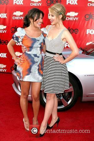 Lea Michele and Dianna Agron Premiere of Fox's 'Glee' at Willows Community School - Arrivals Culver City, California - 08.09.09