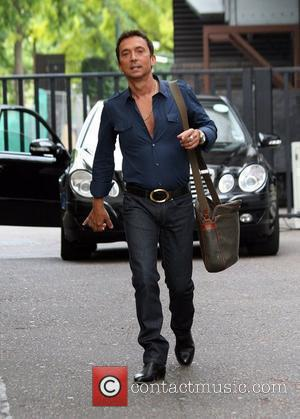 Bruno Tonioli leaves the GMTV studios after appearing on the show London, England - 24.08.09
