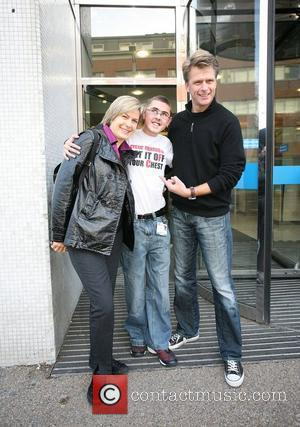 Penny Smith and Andrew Castle