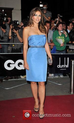 Liz Hurley GQ Men Of The Year Awards held at the Royal Opera House. London, England - 08.09.09