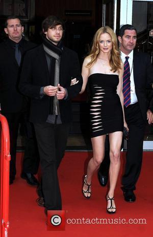 Heather Graham and her boyfriend Yaniv Raz The Dublin premiere of 'The Hangover' at the Savoy Cinema Dublin, Ireland -...