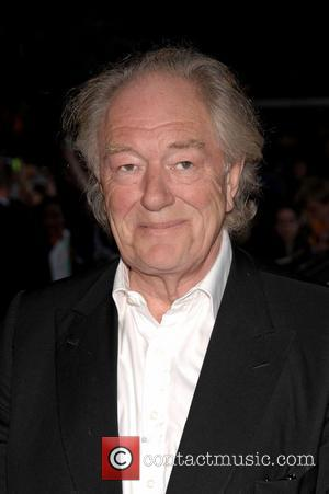 Gambon Hides Cigarettes In Harry Potter Robes