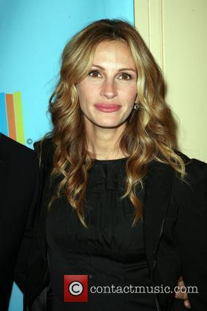 Julia Roberts at a Celebration of Paul Newman's Hole in the Wall Camps in Avery Fisher Hall at Lincoln Center...
