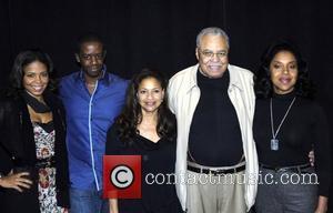 Sanaa Lathan, James Earl Jones, Adrian Lester, Debbie Allen and Phylicia Rashad