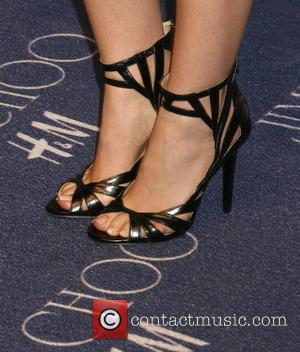 Maggie Grace and Jimmy Choo