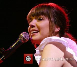 Dutch Singer Laura Jansen Performing Live At Her Showcase Held At Paradiso