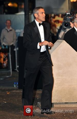 George Clooney The Times BFI London Film Festival: Fantastic Mr Fox - opening gala held at the Odeon Leicester Square....