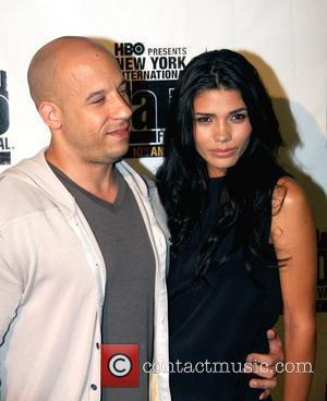 Actor Vin Diesel and Paloma Jimenez The 10th New York International Latino Film Festival (NYILFF) - 'Los Bandoleros' premiere at...