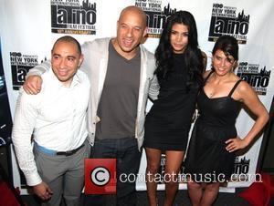 NYILFF Founder Calixto Chinchilla, actor Vin Diesel, Paloma Jimenez and NYILFF Co-Director Elizabeth Gardner  The 10th New York International...