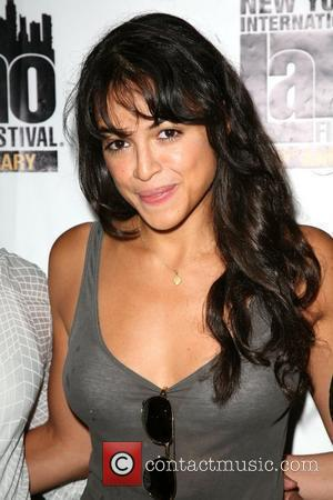 Michelle Rodriguez The 10th New York International Latino Film Festival (NYILFF) - 'Los Bandoleros' premiere at the School of Visual...