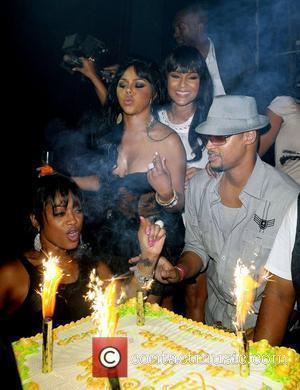 Trina, Lil' Kim and LisaRaye Lil' Kim's birthday celebration at Mansion nightclub Miami Beach, Florida - 23.07.09