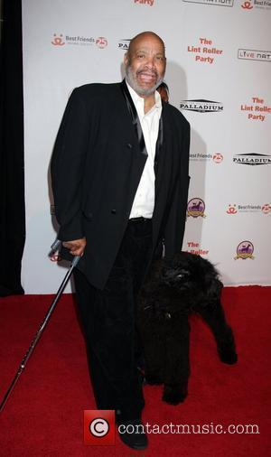 James Avery and His Dog