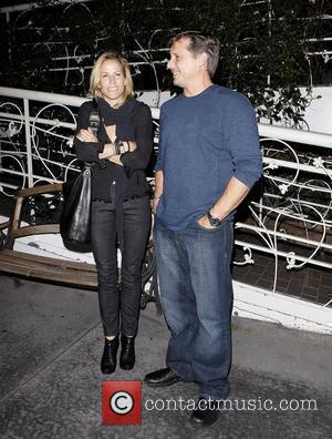 Sheryl Crow leaving Madeo restaurant with a friend Los Angeles, California - 06.10.09