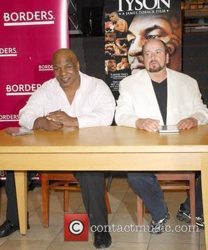 Mike Tyson, Director James Toback Signing Copies Of The Blu-ray, Dvd 'tyson' At Borders Sunset and Vine