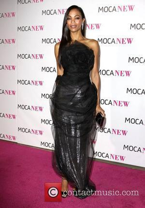 Zoe Saldana MOCA New 30th Anniversary Gala - arrivals Los Angeles, California - 14.11.09