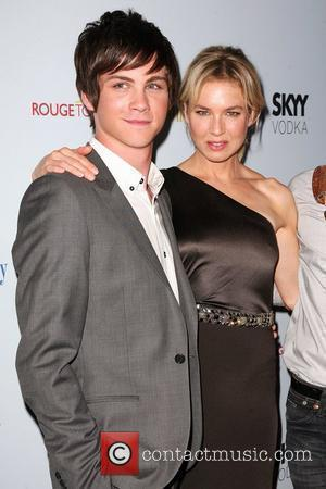 Logan Lerman and Renee Zelweger Premiere of 'My One And Only' at the Paris Theatre - Arrivals New York City,...