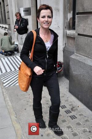 Dolores O'Riordan Outside the BBC Radio 2 studios London, England - 07.09.09