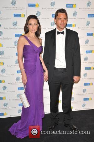 Claire Forlani and Dougray Scott Raisa Gorbachev Foundation Party held at Hampton Court Palace London, England - 06.06.09