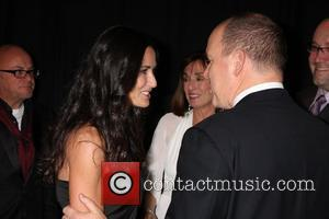 Demi Moore and Prince Albert Ii Of Monaco