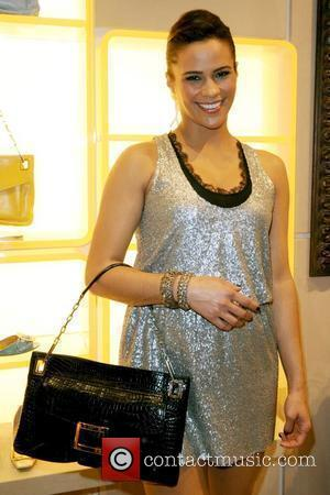 Paula Patton Roger Vivier Boutique opening party at Bal Harbour Shops - Inside Miami, Florida - 01.12.09