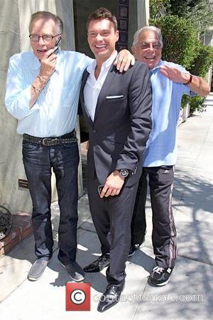 Larry King and Ryan Seacrest