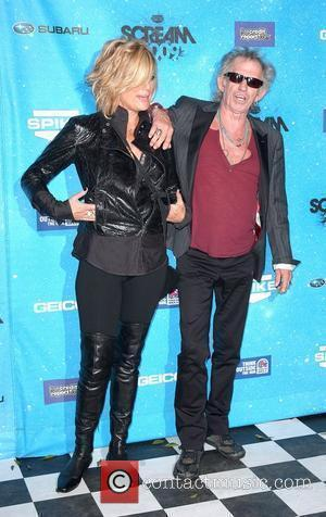Keith Richards and guest Spike TV's 2009 Scream Awards held at the Greek Theatre - Arrivals Los Angeles, California -...