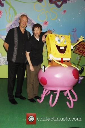 Bill Fagerbakke and Spongebob Squarepants