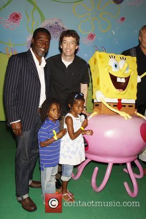 Curtis Cook and Spongebob Squarepants