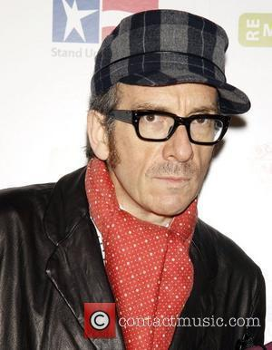 Elvis Costello 'Stand Up for Heroes: A Benefit for the Bob Woodruff Foundation' held at Town Hall - Arrivals New...