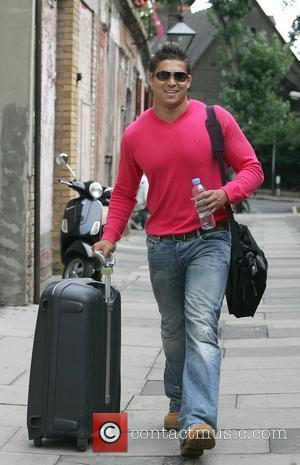 Rav Wilding arrives at a dance studio to rehearse for the new series of Strictly Come Dancing London, England -...