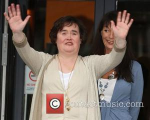 Susan Boyle shopping at Lulu and Fred. The singer seemed in high spirits after being released from a clinic where...