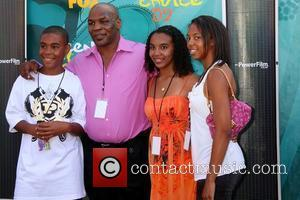Mike Tyson and Family
