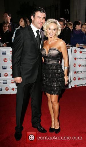 Joe Calzaghe and Kristina Rihanoff Variety Club Showbiz Awards held at the Grosvenor House. London, England - 15.11.09