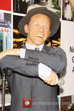 Frank Sinatra wax sculpture Madame Tussauds wax sculptures of New Jersey music legends are on display at the opening of...