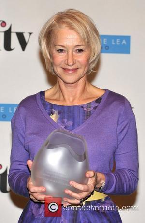 Helen Mirren Women In Film And TV Awards held at the London Hilton, Park Lane - Press Room. London, England...