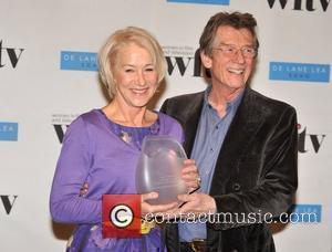Helen Mirren and John Hurt Women In Film And TV Awards held at the London Hilton, Park Lane - Press...